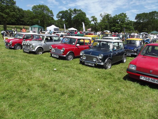 Beaulieu Mini Cooper Day – 8th June 2014