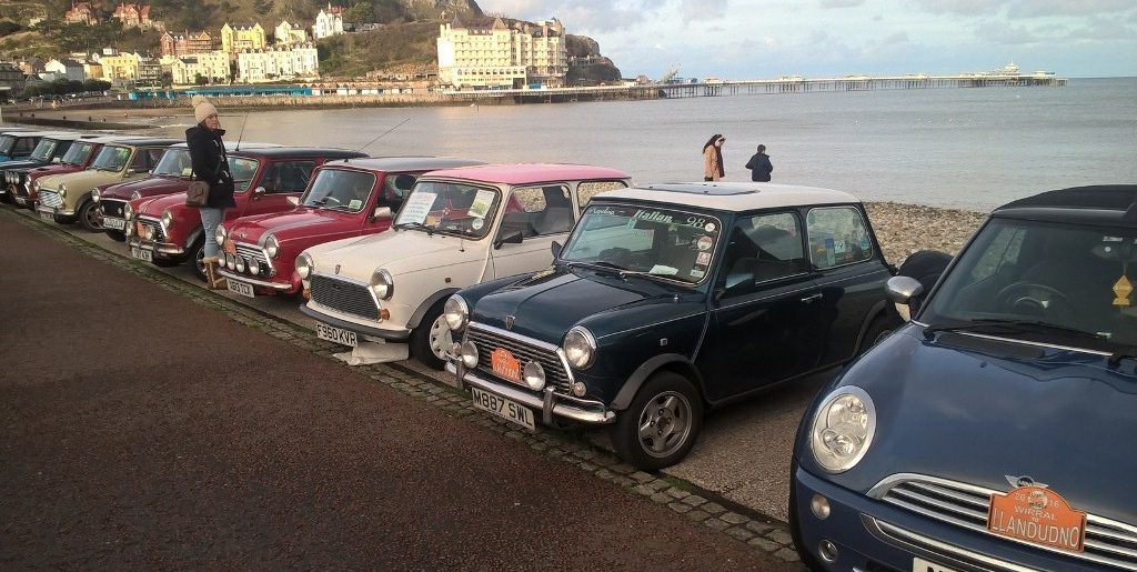 Minis on the Prom, Aberaeron – 28th – 30th May 2016