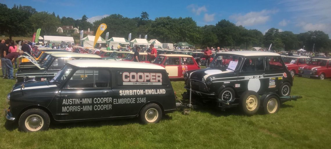 National Mini Cooper Day, Beaulieu – Sunday 11th June 2017