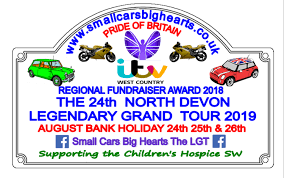 The Legendary grand Tour, North Devon – Saturday 24th – Monday 26th August 2019