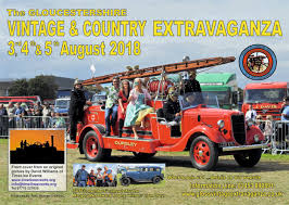 The Gloucestershire Vintage and Country Extravaganza – Friday 3rd – Sunday 5th August 2018