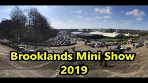 Brooklands Mini Show – Sunday 24th March 2019