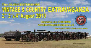 The Gloucester Vintage & Country Extravaganza – Friday 2nd – Sunday 4th August 2019