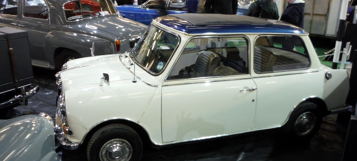 The Footman James Great Western Classic car show – Bath and West Showground – Saturday 10th February 2018