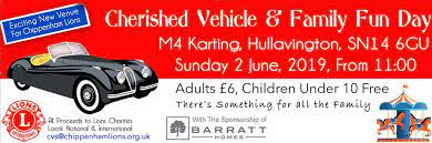 Cherished Vehicle and Family Fun Day, Hullavington – Sunday 31st August 2019